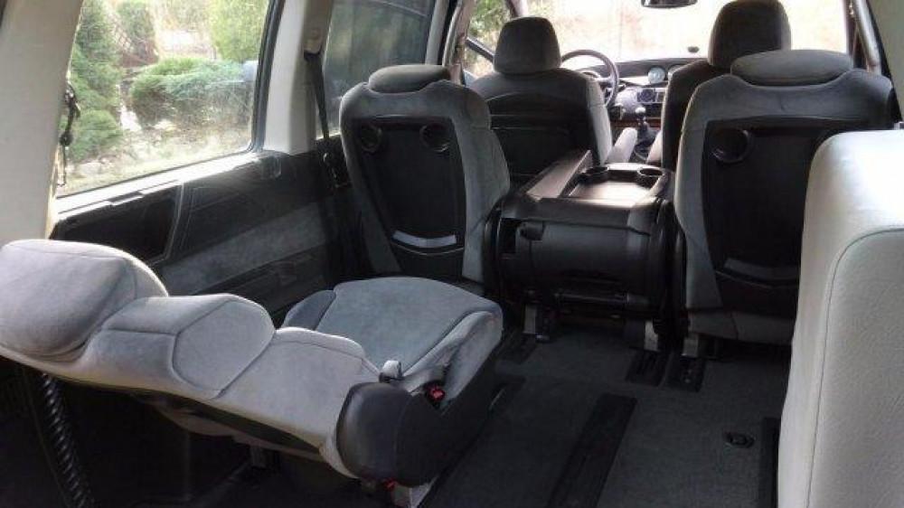 środek - Citroen C8 Van