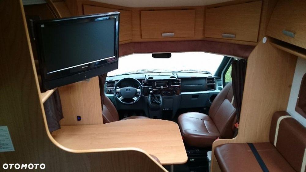 Ford Transit Rimor Blucamp Sky22 - wnętrze