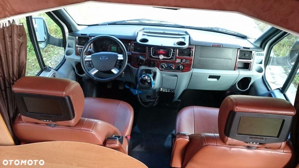 Ford Transit Rimor Blucamp Sky22 - fotele