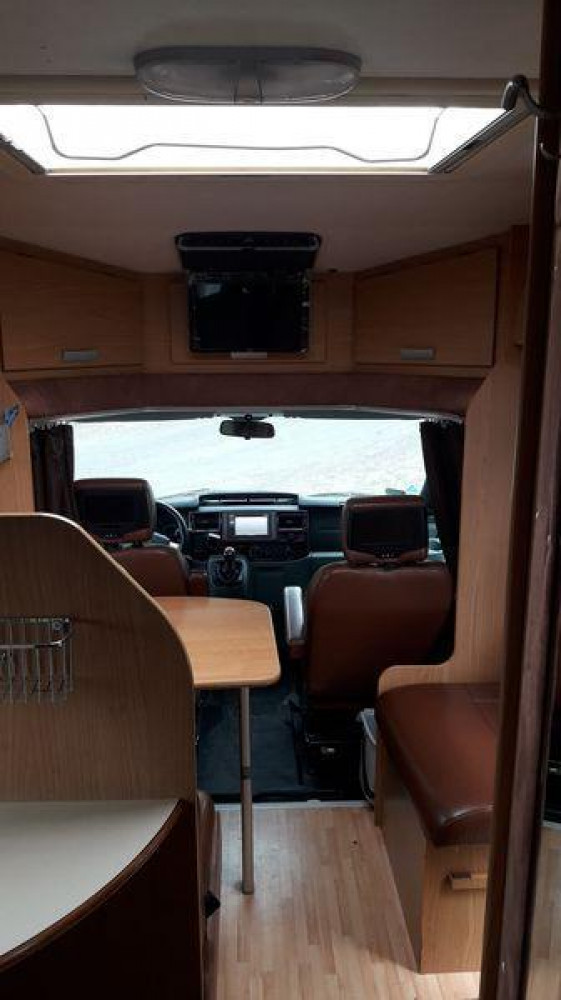 Ford Transit Rimor - wnętrze