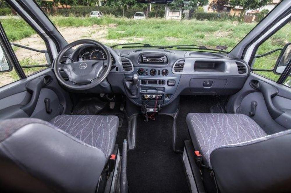 kabina kierowcy - Mercedes Sprinter Hymer