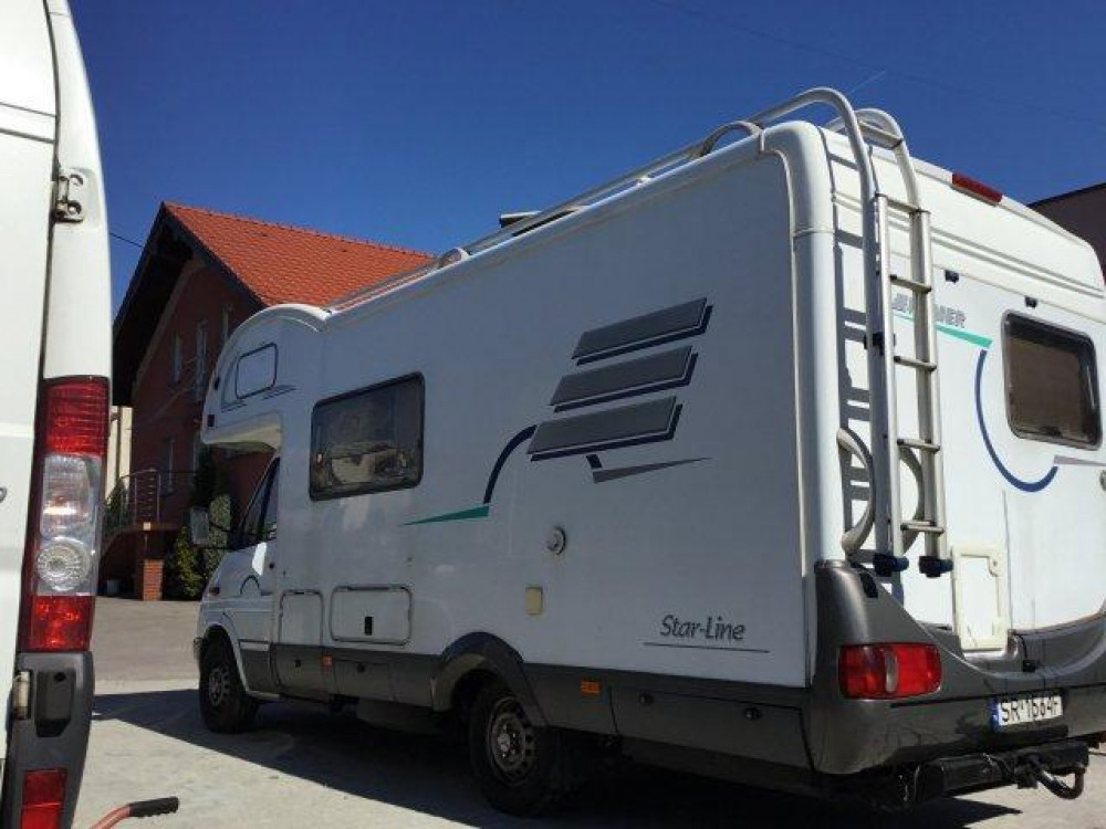 Mercedes Sprinter Hymer