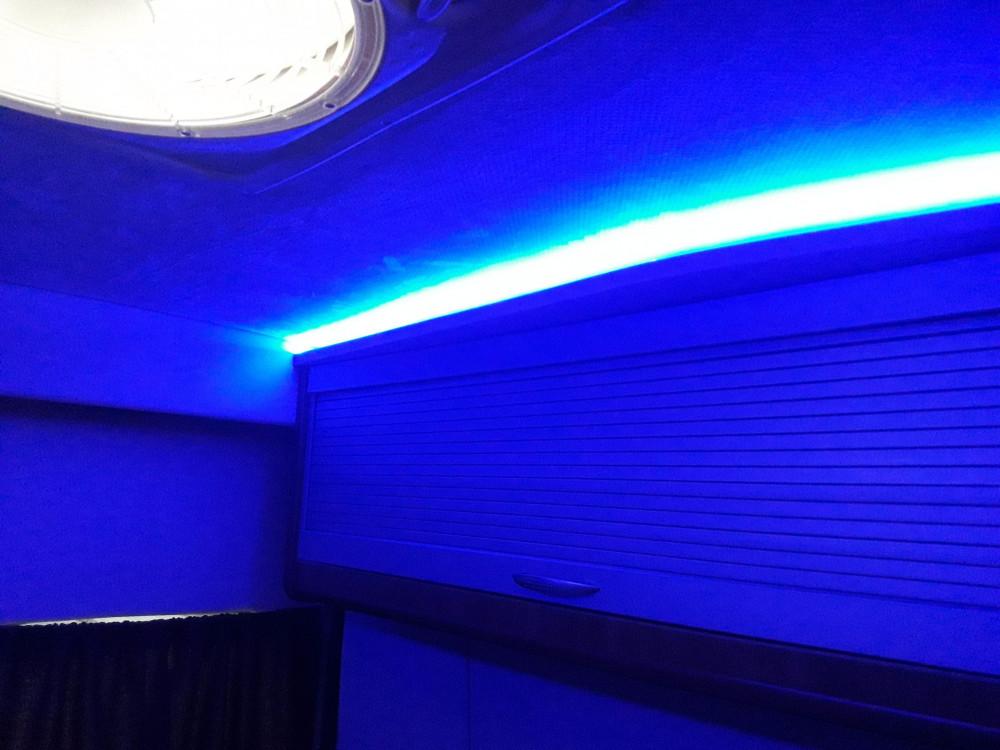 Peugeot Boxer - podświetlenia